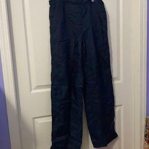 Footlocker women nylon navy pants